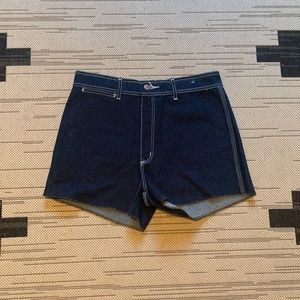 70s Vintage High waisted shorts